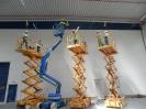 Elektroinstalační práce v hale