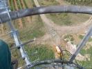 Pohled dolů z vysílače