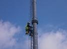Montáž technologií na železniční stožár, Karlovy Vary