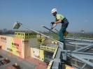 Oprava osvětlení na pylonu