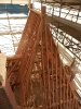 Stavba historického krovu