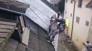 Nástřik šindelové střechy