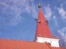 Nátěr střechy kostelní věže