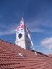 Renovace ciferníků na věži