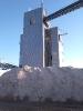 Nátěr písku třídírny v Halámkách