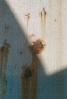 Detail korozí poškozeného opláštění
