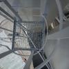 Součástí renovace byla i výměna kovových roštů