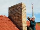 Spárování výrazně zvyšuje životnost komínu