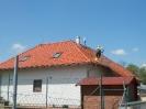 Mytí znečištěné střechy