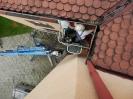 Oprava okapových žlabů z plošiny