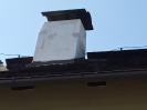Součástí prací byla i oprava komínů