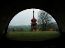 Pohled z hlavní věže