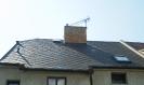 Celkový pohled na střechu s vyměněnými šablonami