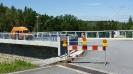 Omezení dopravy během prací na přehradě