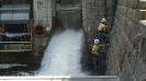 Pohled na výpusť přehrady
