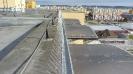 Po zahrotování okrajů střechy budova zpravidla přestane být pro holuby zajímavá